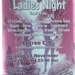 Vrijdag 13 november trappen we het actie seizoen af met een Lady's night in de Tarwewijk in Rotterdam